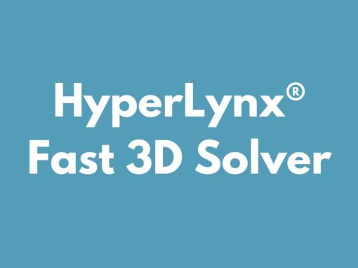 HyperLynx Fast 3D Solver